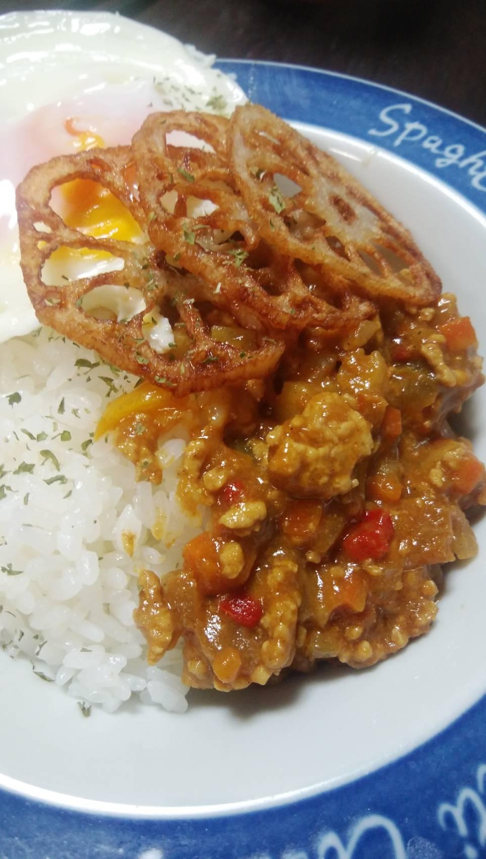 野菜たっぷり☆豚挽き肉のキーマカレー