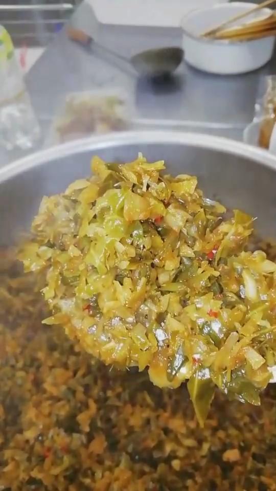 端物野菜で作るピリ辛酢っぱ