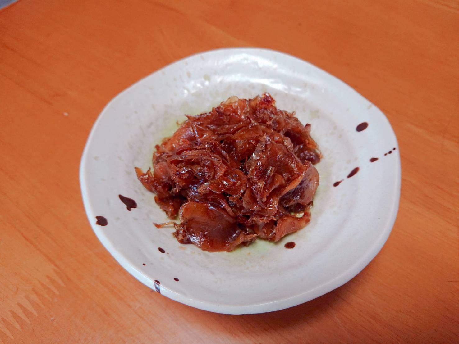ごはんが進む生姜の田舎煮